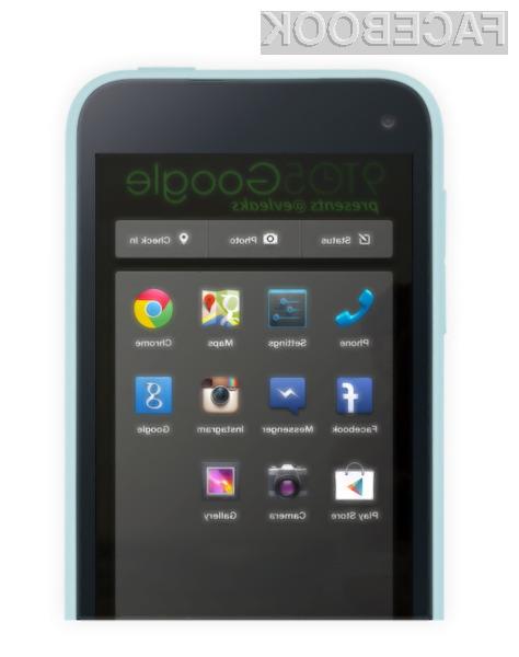 HTC First (Facebook telefon) bo povsem običajen mobilnik.