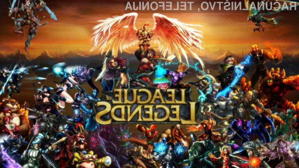 League of Legends velja za eno najbolj popularnih kompetitivnih iger na spletu!