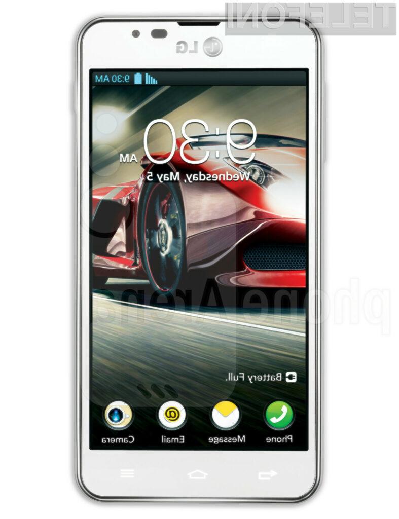 Pametni mobilni telefon LG Optimus F5 za malo denarja ponuja veliko!