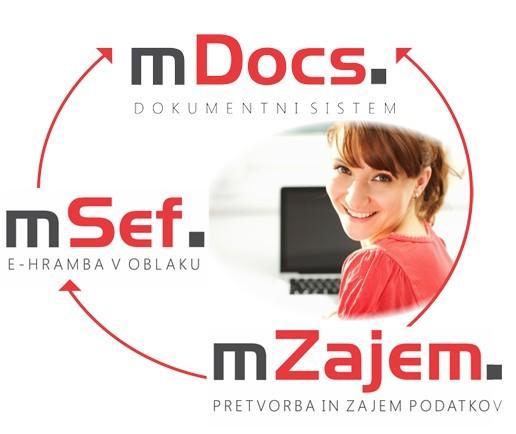 Z e-hrambo v oblaku mSef lahko varno dostopate do svojih dokumentov kjerkoli in kadarkoli.