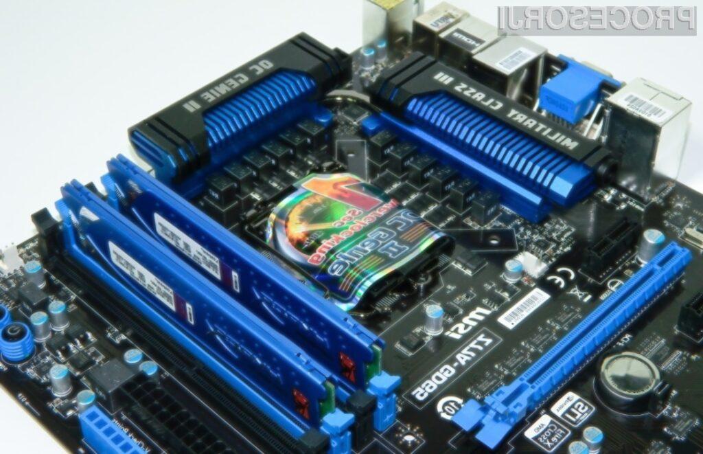 Če boste na računalnikih s procesorji Intel Haswell naleteli na težave, bo za to po vsej verjetnosti kriv vezni nabor.
