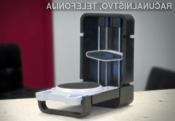 Photon s pomočjo HD kamere in dveh laserjev skeniran predmet transformira v računalniški 3D model.