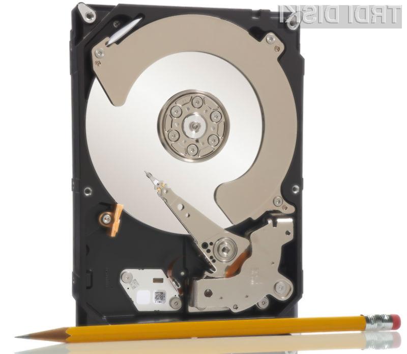 Seagatov 4-terabajtni disk temelji na posebnem sistemu štirih diskovnih plošč.