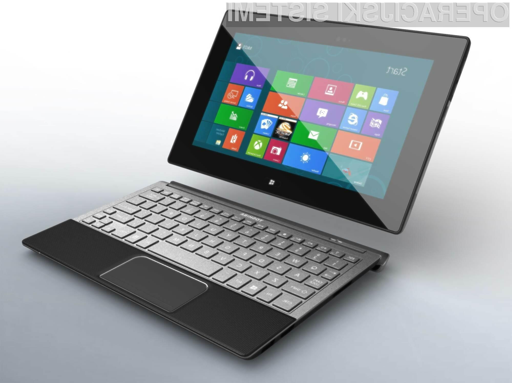 Microsoft bo prodajo tabličnih računalnikov Surface poskušal »pospešiti« z nadgradnjo Windows Blue.