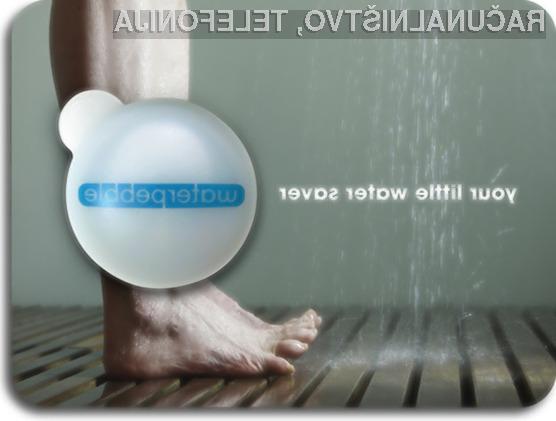 Z uporabo Waterpebble lahko prihranimo pri topli sanitarni vodi.