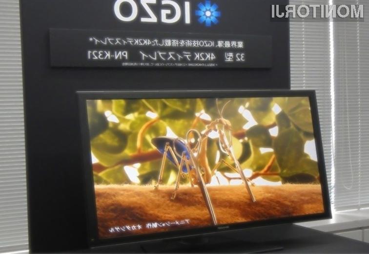 Zasloni Sharp s tehnologijo IGZO so za razred boljši od običajnih zaslonov z osvetlitvijo LED!