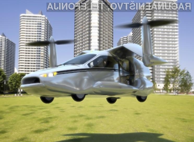 Z avtomobilom Terrafugia TF-X bi lahko poleteli že leta 2017!