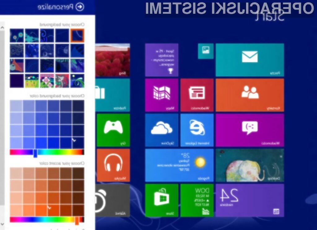 """Posodobitev Windows 8.1 """"Blue"""" naj bi prinesla zvrhan koš uporabnih novosti!"""
