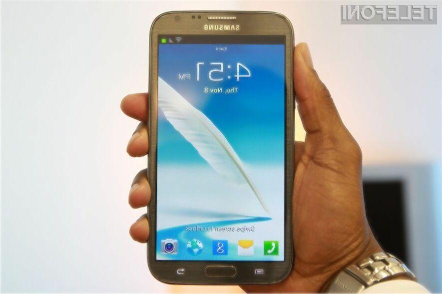 Gigantski mobilnik Samsung Galaxy Note 3 bo naprodaj že konec poletja!