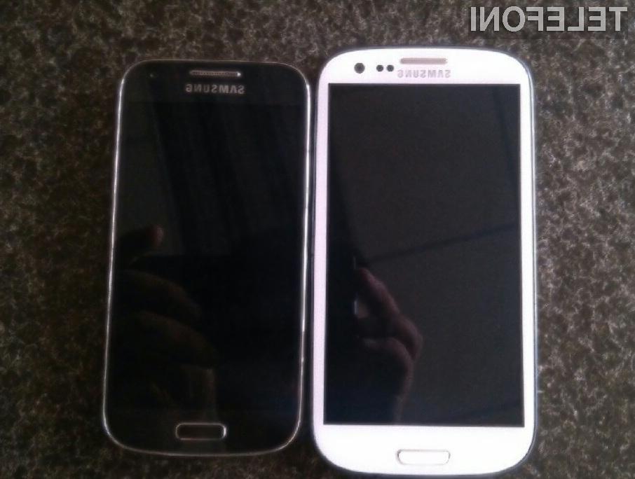 Samsung Galaxy S4 Mini naj bi bil oblikovno enak njegovemu zmogljivejšemu bratu.