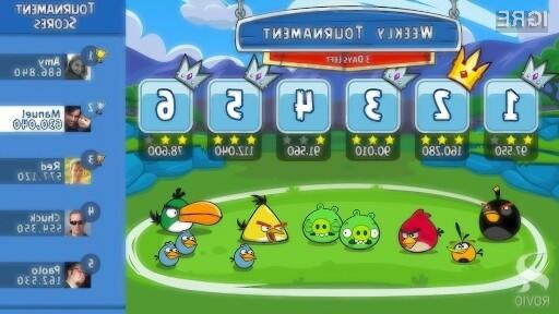 Igra Angry Birds Friends ponuja izjemne igričarske užitke, saj jo lahko igramo skupaj s prijatelji in znanci.