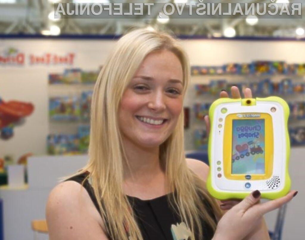 Najmlajši bodo nad tablico VTech Inno Tab 2 Baby zagotovo navdušeni!