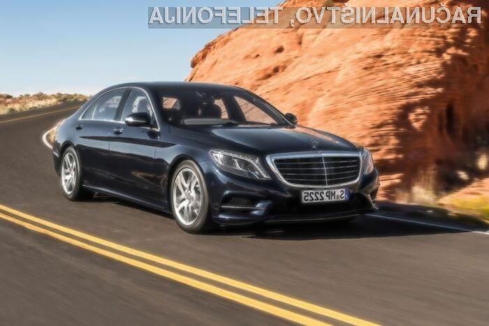 Mercedes z avtopilotom