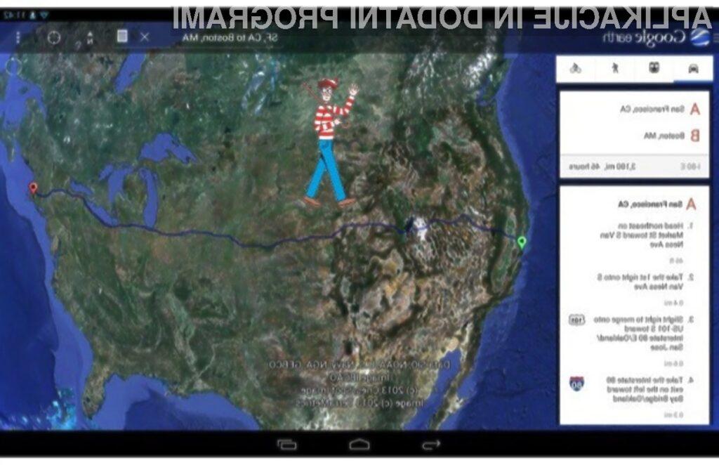 Google Earth 7.1 navdušuje z uličnim pogledom, boljšim iskalnikom in inovativnim uporabniškim vmesnikom.