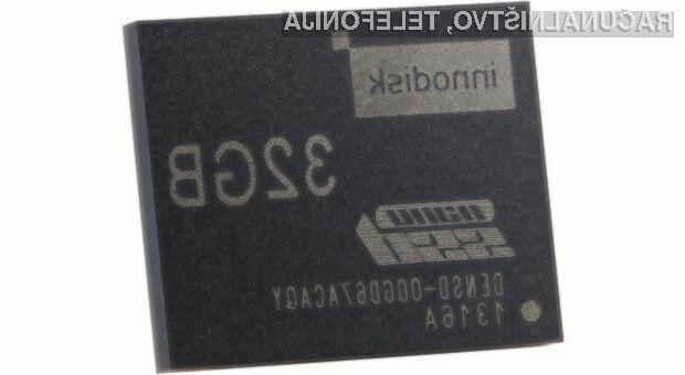 Prostorni in najmanjši pogon Solid State Innodisk nanoSSD je namenjen mobilnim napravam in kompaktnim prenosnikom.
