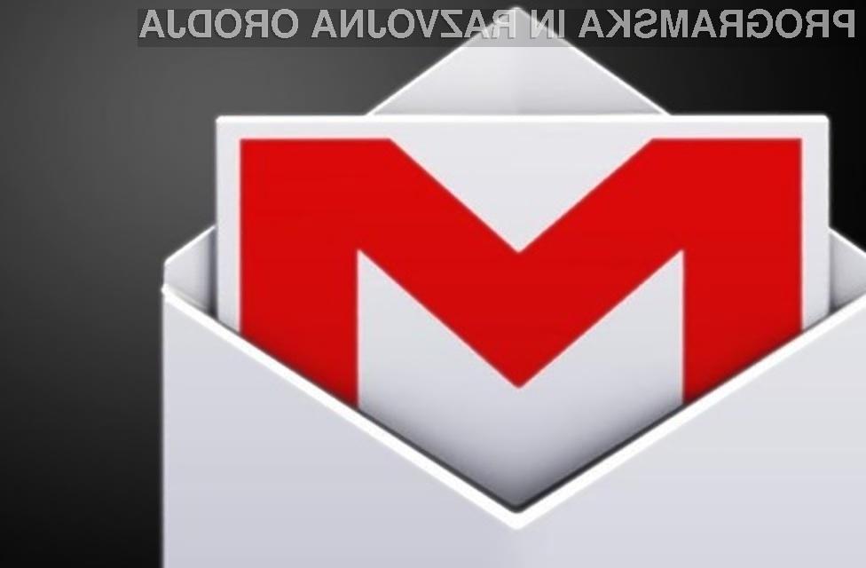 Gmail je z novimi možnostmi postal nadvse uporaben!
