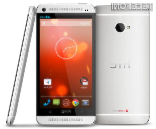 Novi HTC One bo tako kot Galaxy S4 ponujal uporabniško izkušnjo mobilnikov Google Nexus.