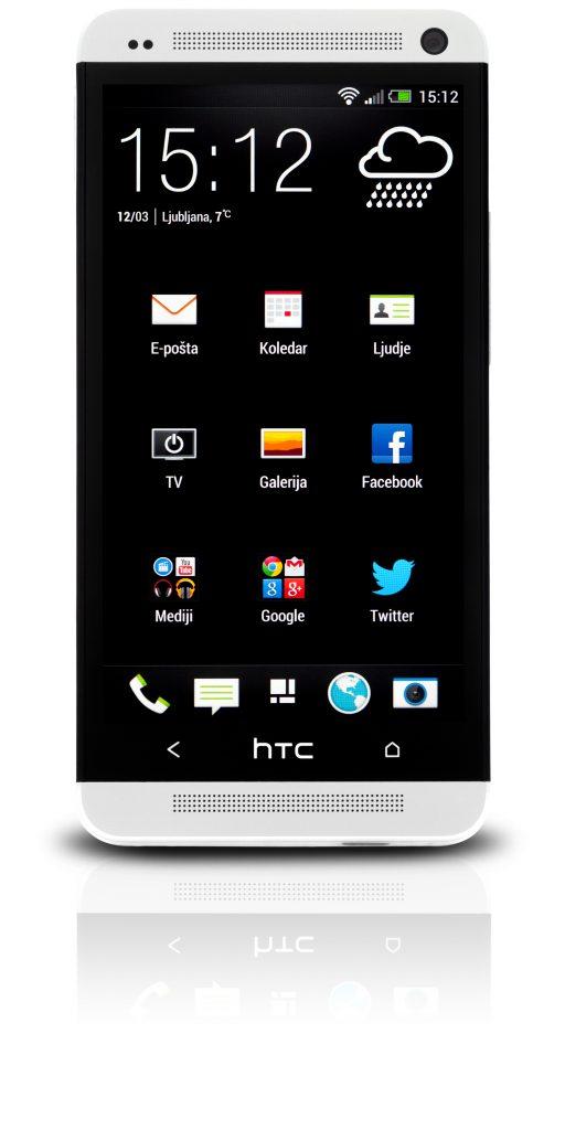 V Mobitelovi splošni prodajni akciji je cena mobilnika HTC One 522 evrov ob vezavi.