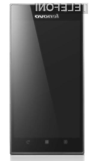 Pametni mobilni telefon Lenovo K900 navdušuje tako z zmogljivostjo kot izjemno obliko!