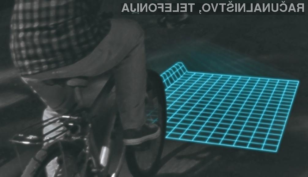 Svetilka Lumigrids bi precej pripomogla k povečanju varnosti kolesarjev!