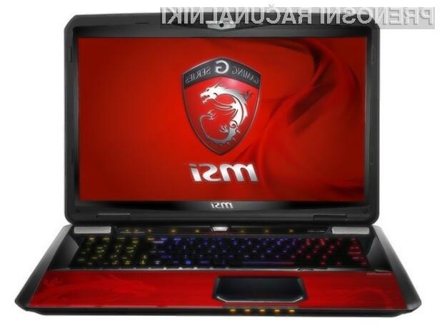 Prenosni računalnik MSI GT70 Dragon Edition 2 bo zlahka poganjal tudi grafično najbogatejše igre!