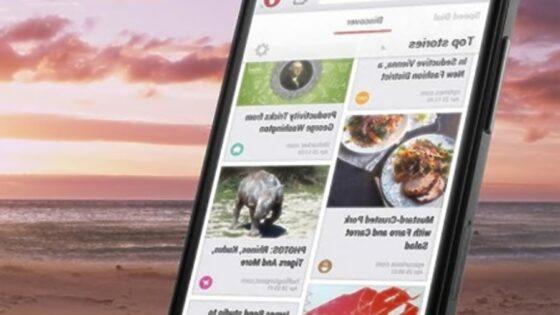 Mobilna Opera predstavlja resno konkurenco za preostale mobilne brskalnike, kot sta na primer Google Chrome in Mozilla Firefox.