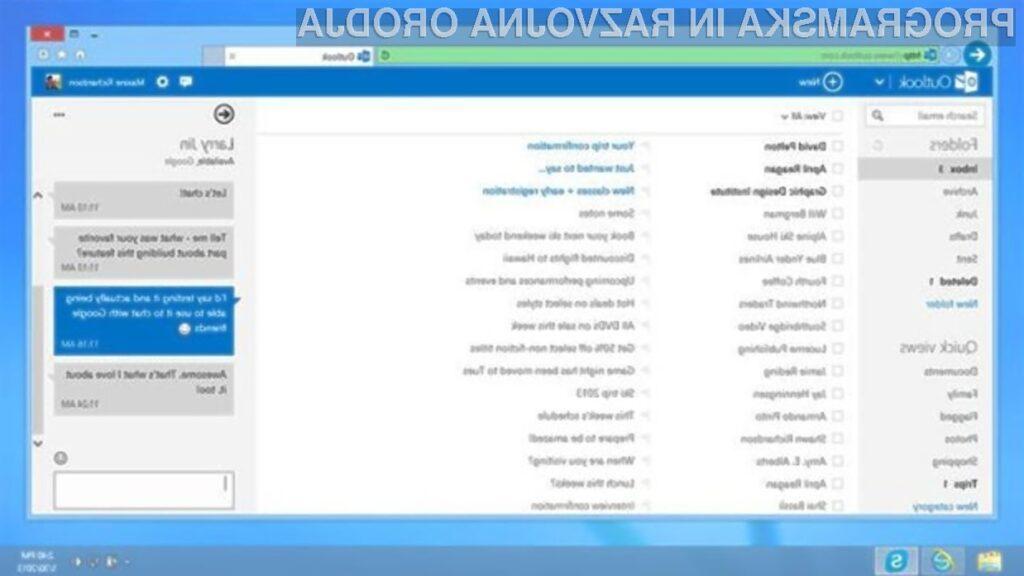 Možnost uvoza Googlovih uporabnikov v Outlook.com in SkyDrive bo vsem uporabnikom dosegljiva v nekaj tednih.
