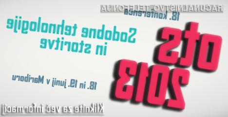 18. in 19. junija se bo na FERIju odvijala dvodnevna konferenca OTS2013
