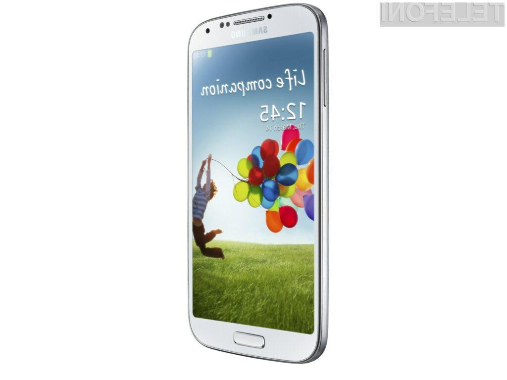 Novi Samsung Galaxy S4 bo opazno hitrejši v primerjavi z njegovim predhodnikom.