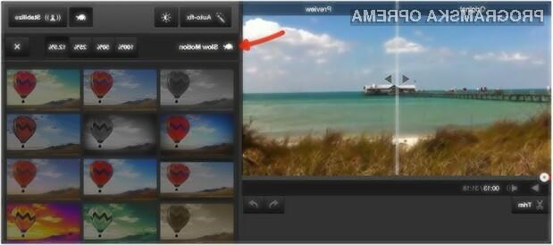 Možnost upočasnitve video posnetkov na spletnem portalu YouTube vas bo takoj prevzela!