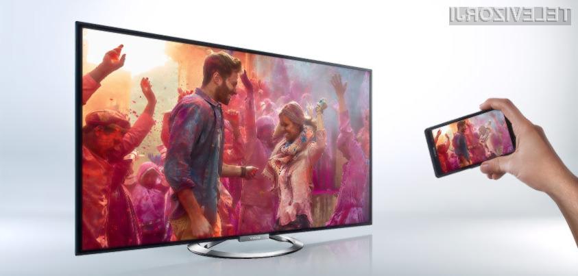 Nova serija Sony Bravia televizorjev ima Triluminos LED osvetlitev.