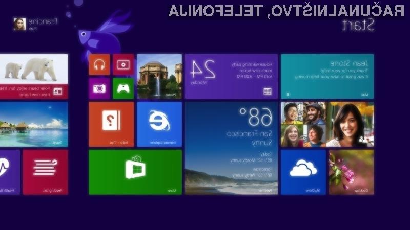 Windows 8.1 prinaša nove barve, ozdaja ter večje in manjše ploščice.