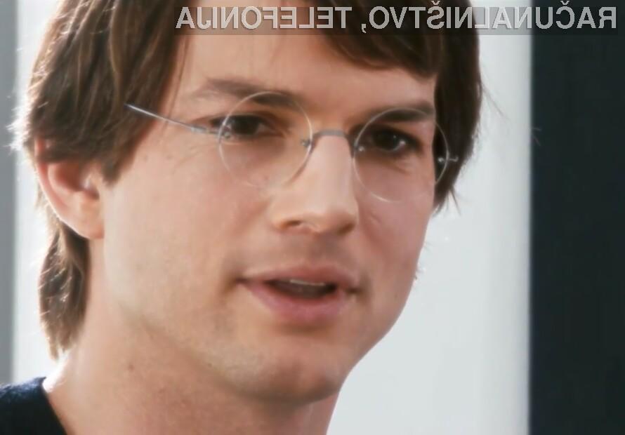 Ashtonu Kutcherju je vloga soustanovitelja podjetja Apple pisana na kožo!