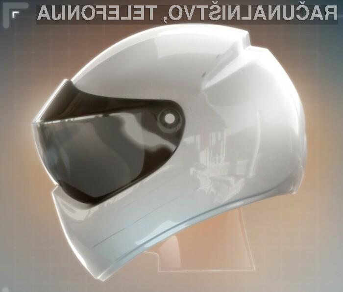 Pametna čelada LiveMap bo sodobnim motoristom v veliko pomoč pri potovanju po neznanih krajih!