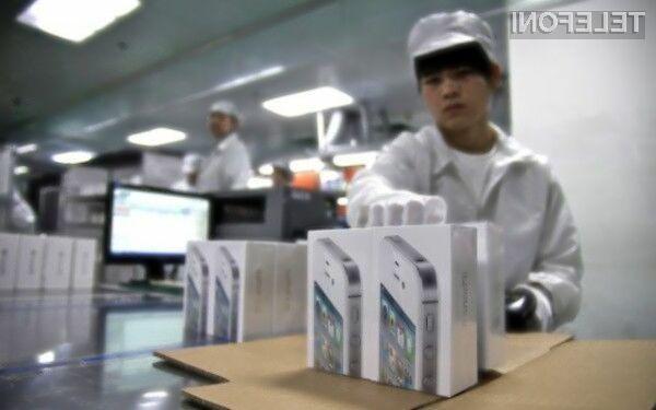 Podjetje Pegatron bo za izdelavo cenejšega iPhona število zaposlenih povečalo za kar 40 odstotkov.