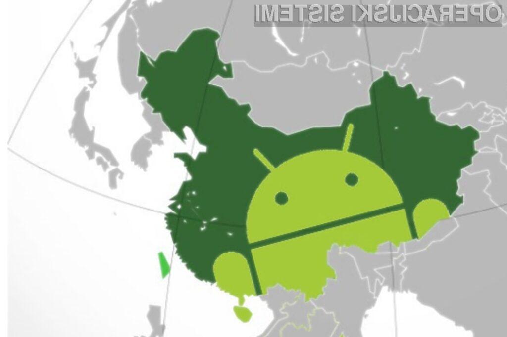 Kitajski uporabniki pametnih mobilnih telefonov so vse bolj navdušeni nad mobilnim operacijskim sistemom Android!