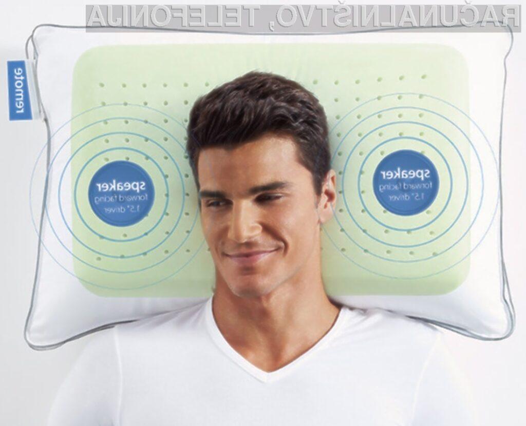Vzglavnik SoftSound zagotavlja nadvse kakovostno gledanje televizijskega sprejemnika v postelji.