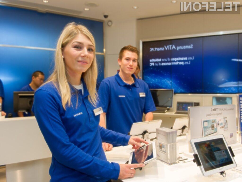Lastne prodajalne naj bi podjetju Samsung doprinesle rast blagovne znamke in večjo zvestobo kupcev.
