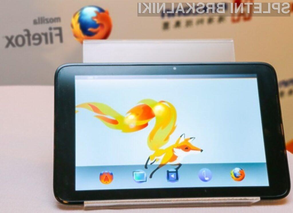 Mobilni operacijski sistem Firefox OS se odlično prilega tabličnim računalnikom!