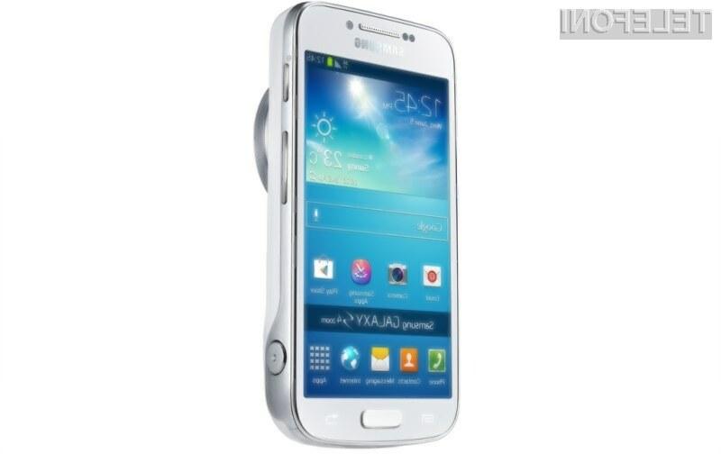 Samsung Galaxy S4 Zoom združuje vse prednosti pametnega mobilnega telefona in kompaktnega digitalnega fotoaparata.