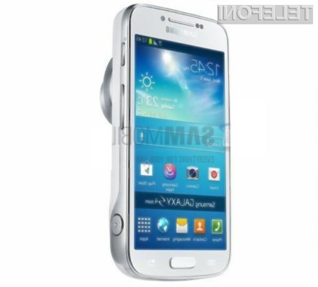 Samsung Galaxy S4 Zoom bo združeval prednosti pametnih mobilnih telefonov in kompaktnih digitalnih fotoaparatov!