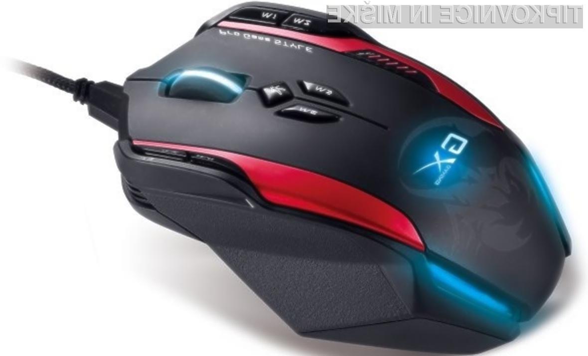 Računalniška miška Genius Gila GX se najbolje znajde v prvoosebnih strelskih igrah.