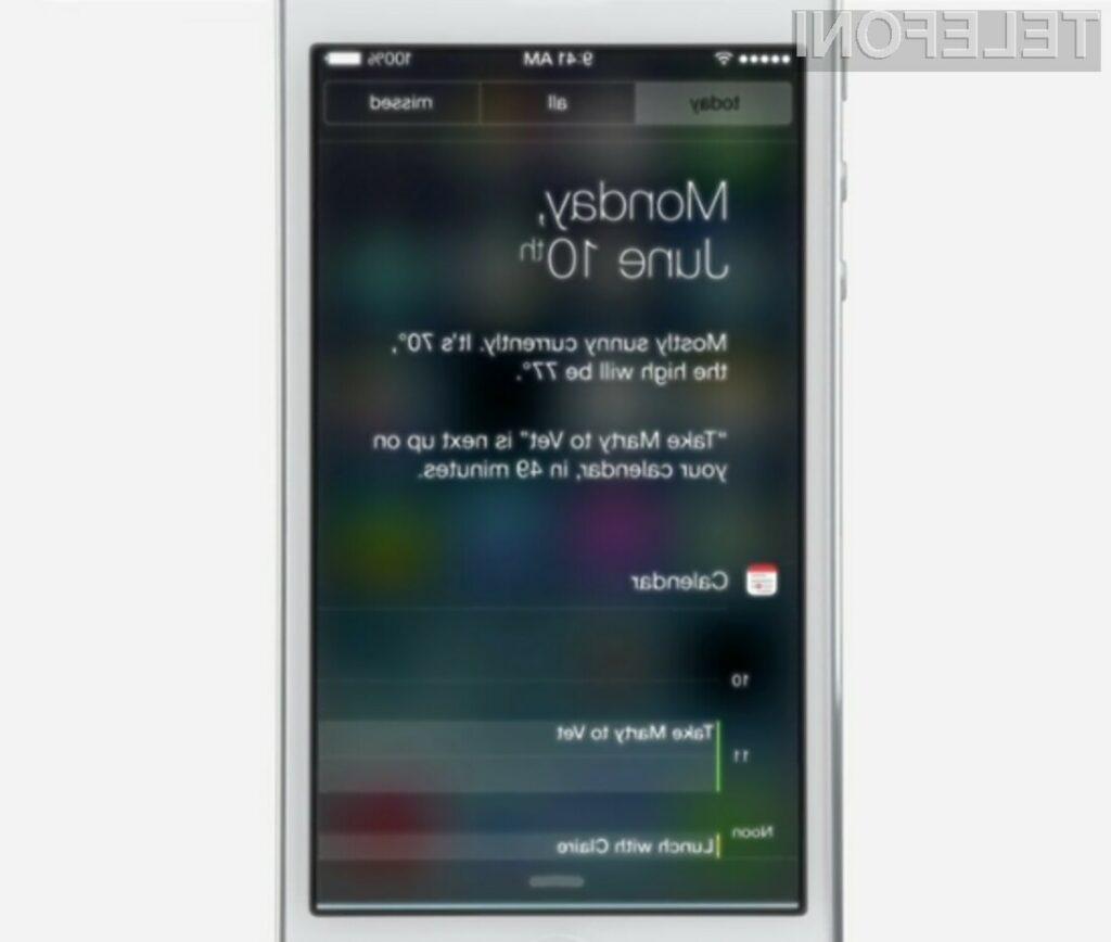 Mobilni operacijski sistem iOS 7 bo pomladil vašo Applovo mobilno napravo!