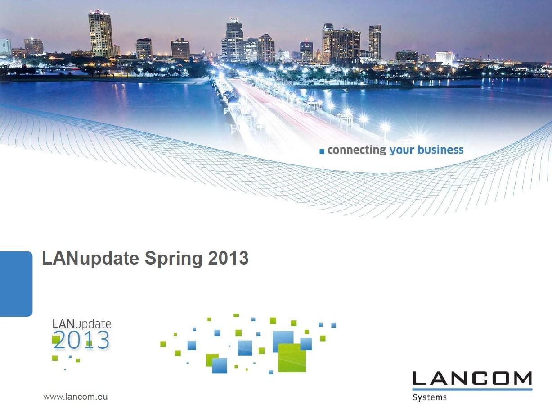 Lancom in Advant sta predstavila novo serijo mrežne opreme.