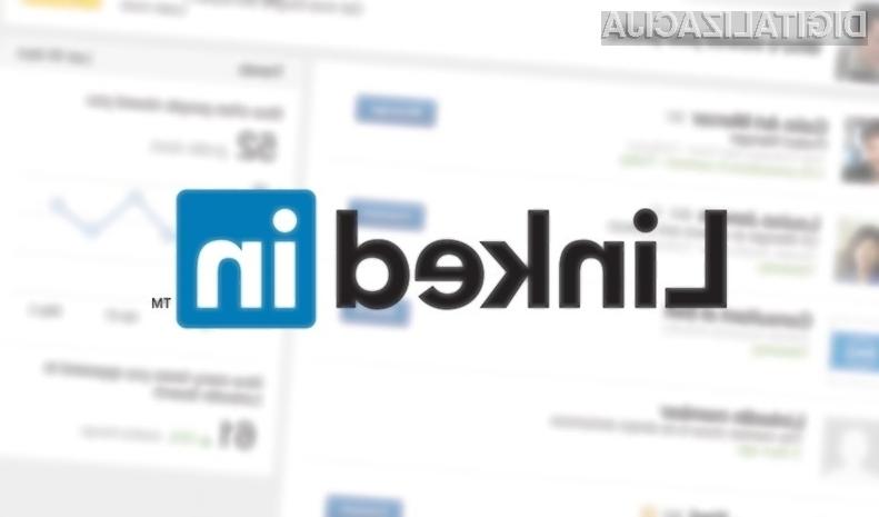 LinkedIn prenovil stran, ki prikazuje obiskovalce uporabniških profilov