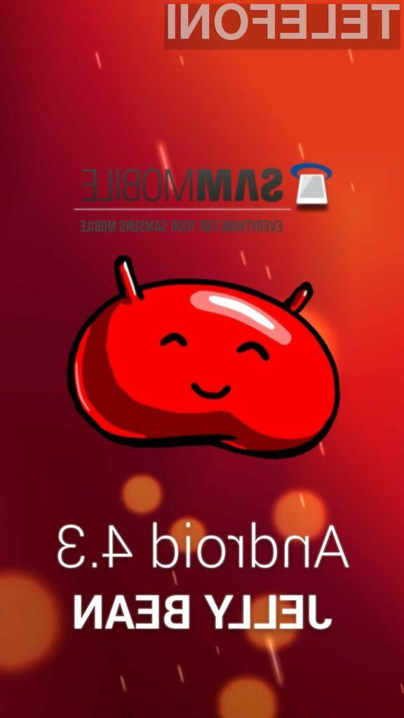 Android 4.3 Jelly Bean se odlično znajde na mobilniku Samsung Galaxy S4!