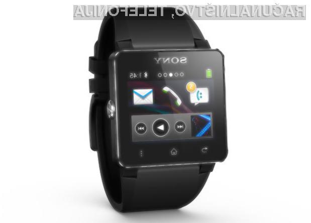 Pametna ročna ura Sony SmartWatch 2 bo odlično dopolnjevala pametni mobilni telefon.