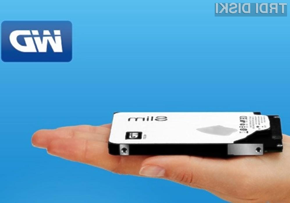 Trdi disk Western Digital Blue s terabajtom prostora bi lahko ugledali celo v tabličnih računalnikih!