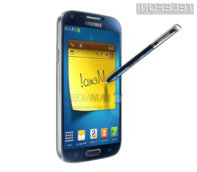 Pametni mobilni telefon Galaxy Memo bo nepogrešljivi spremljevalec tako na poslovnih sestankih kot pri nakupovanju.