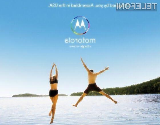 Pametni mobilni telefon Motorola Moto X obeta veliko!